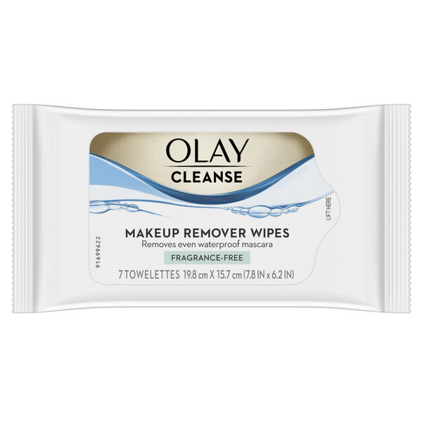 Olay Makeup Remover Wet Cloths, 7 count