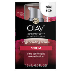 Olay Regenerist Regenerating Lightweight Moisturization Serum, 0.5 fl oz