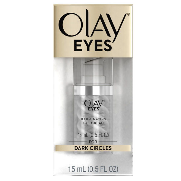 Olay Eyes Illuminating Eye Cream for dark circles under eyes, 0.5 fl oz