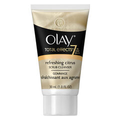 Olay Total Effects Refreshing Citrus Scrub Cleanser, 1.0 fl oz