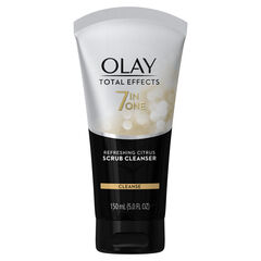 Olay Total Effects Refreshing Citrus Scrub Facial Cleanser, 5.0 fl oz