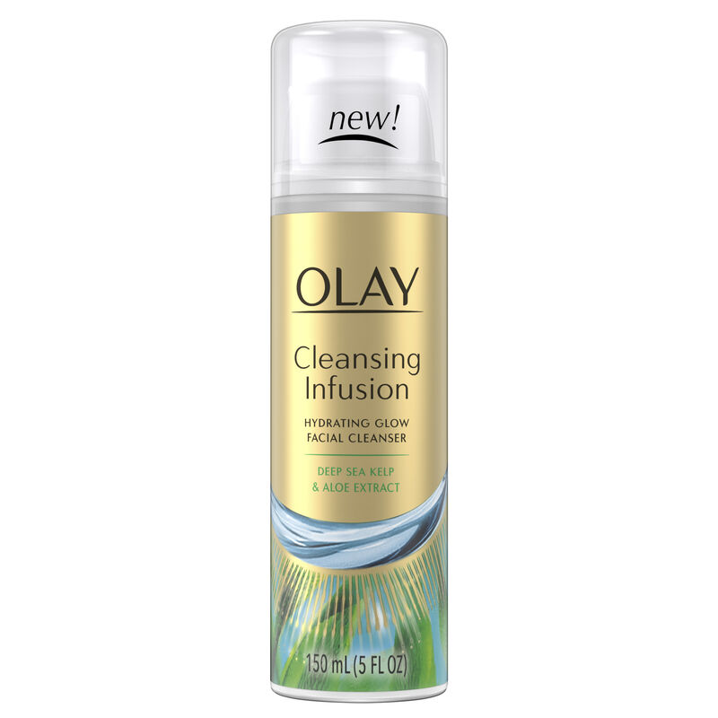 Olay Cleansing Infusion Facial Cleanser with Deep Sea Kelp, 5oz