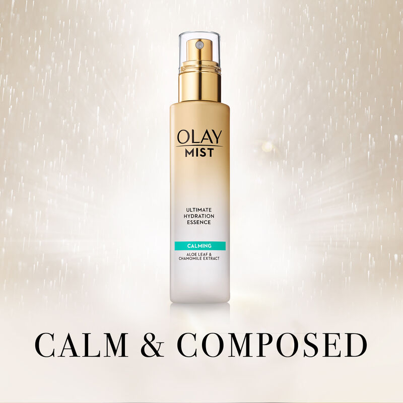 Olay Mist Ultimate Hydration Essence Calming With Aloe Leaf & Chamomile, 3.3 fl oz
