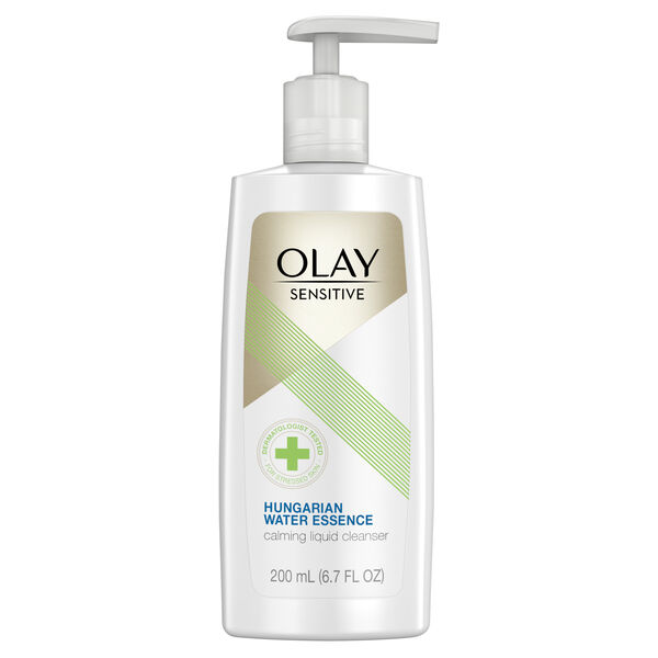 Olay Sensitive Facial Cleanser with Hungarian Water Essence, 6.7 oz
