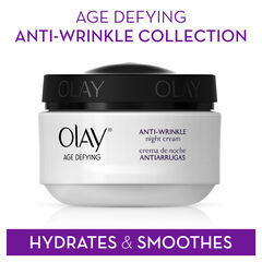 Olay Age Defying Anti-Wrinkle Night Cream, 2.0 oz