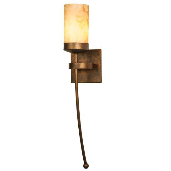 2nd Avenue Design Bechar 28 Inch Wall Sconce Bechar - 04.1480.1.nh - Rustic
