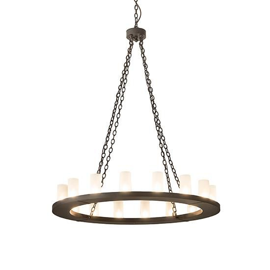 2nd Avenue Design Loxley 48 Inch 16 Light Chandelier Loxley 33394 5 Rustic