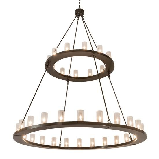 2nd Avenue Design Loxley 72 Inch 36 Light Chandelier Loxley 54211 3