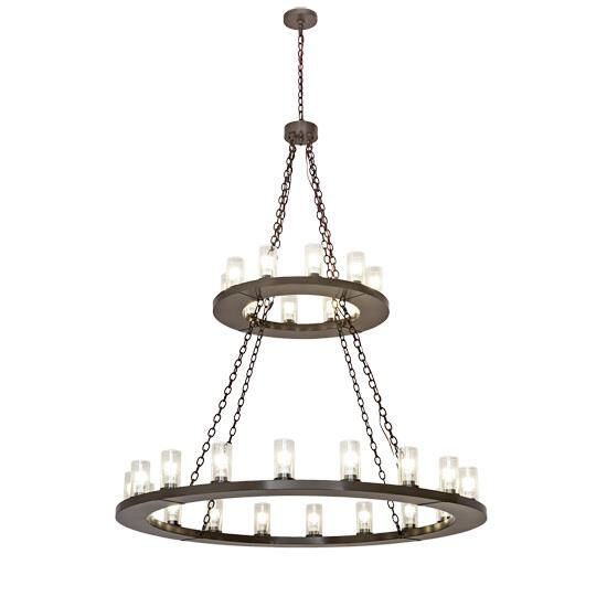 2nd Avenue Design Loxley 60 Inch 28 Light Chandelier Loxley 1 0285169155 47GU24