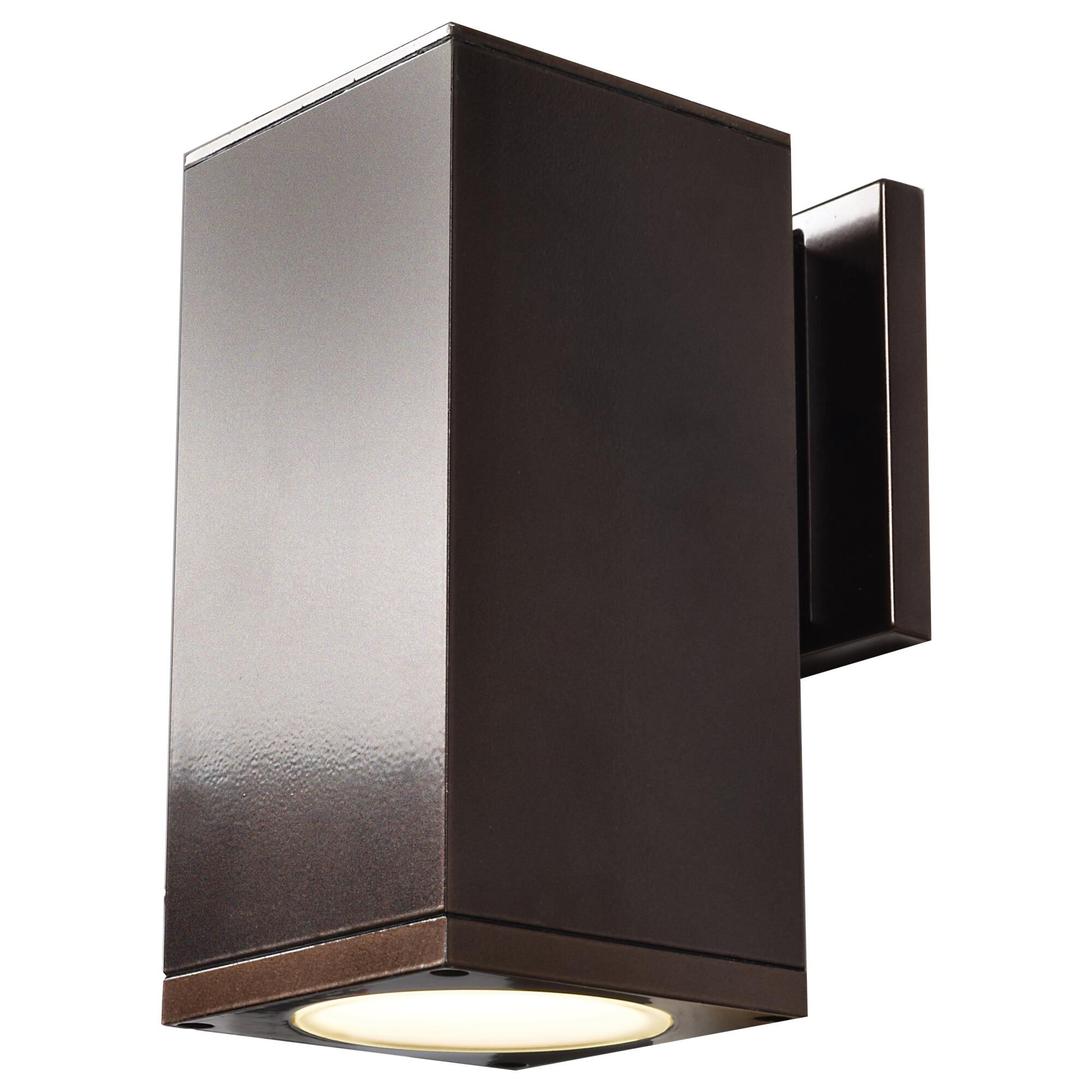 Access Lighting Bayside 8 Inch Tall 1 Light LED Outdoor Wall Light Bayside 20032LEDMG BRZFST Modern Contemporary