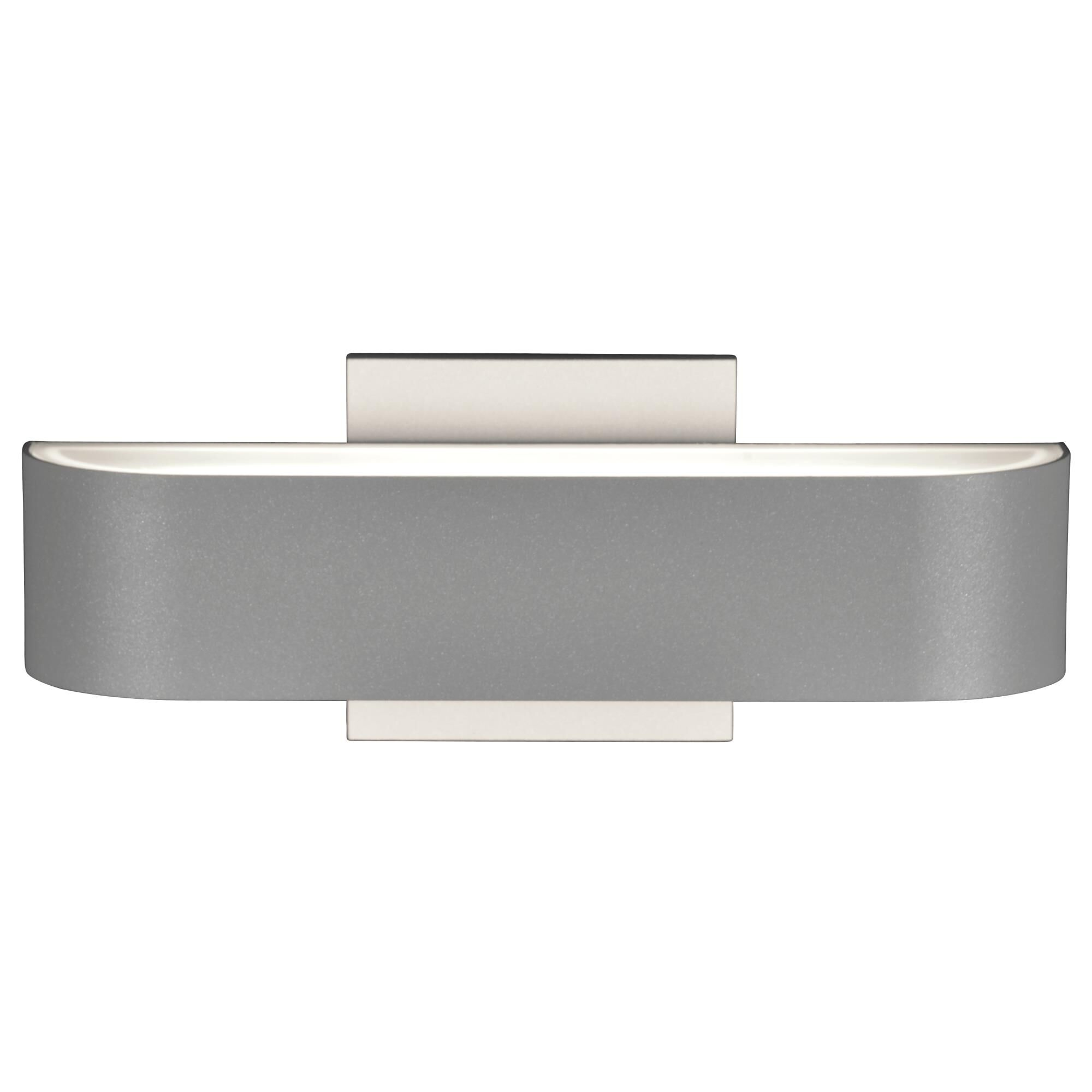 Access Lighting Montreal 2 Inch Tall 2 Light LED Outdoor Wall Light Montreal 20046LEDDMG SATFST Modern Contemporary