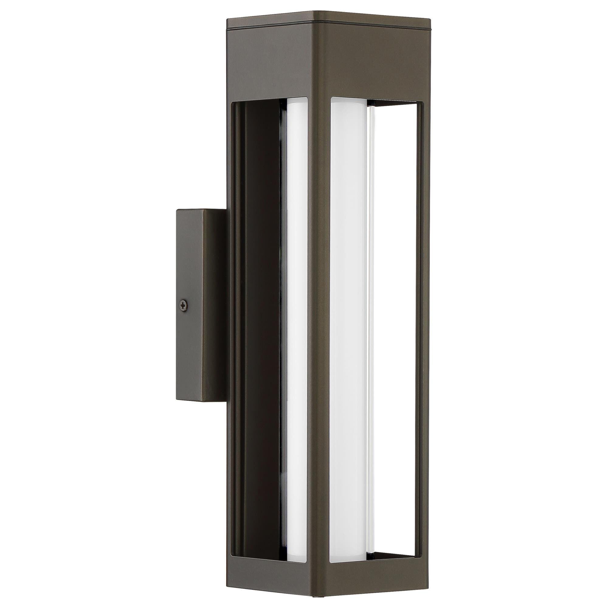Access Lighting Soll 14 Inch LED Wall Sconce Soll 20126LEDDMG ORBOPL Modern Contemporary