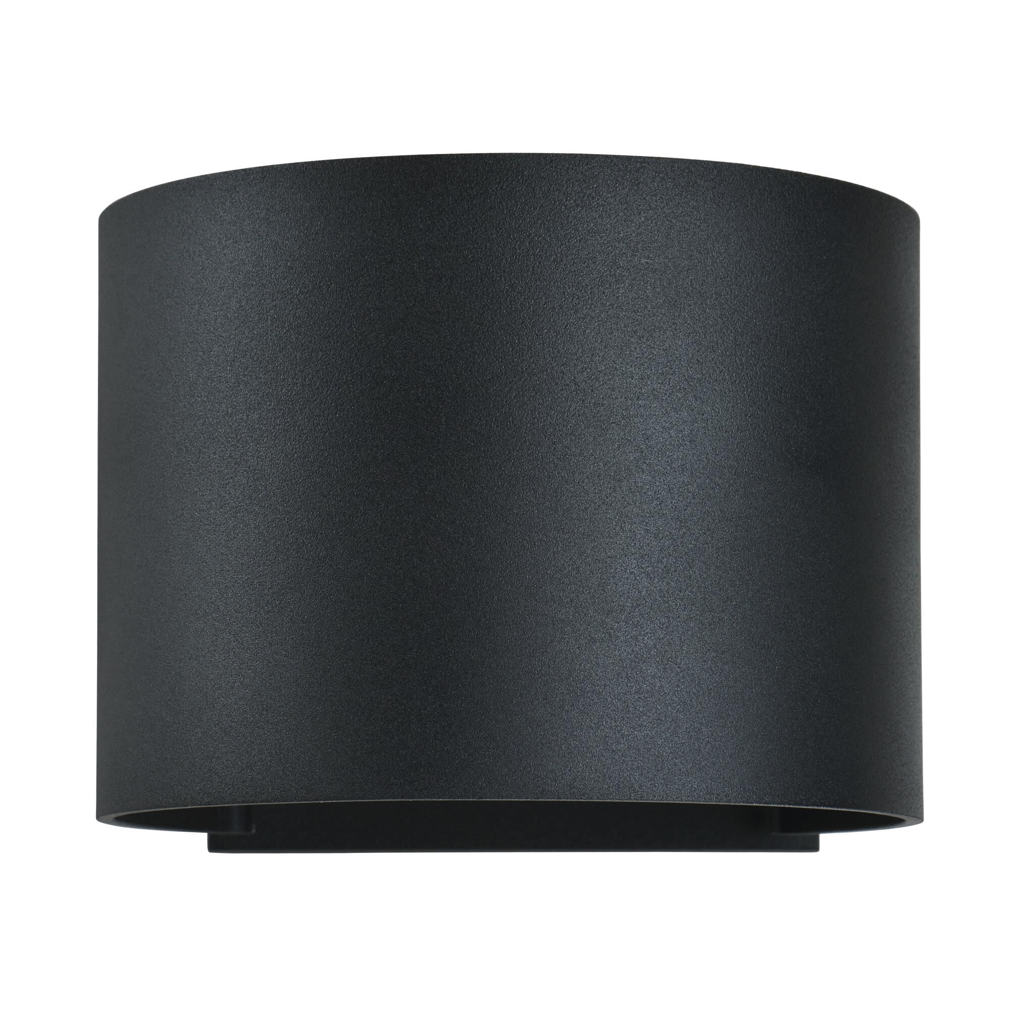 Access Lighting Curve 4 Inch Tall 2 Light LED Outdoor Wall Light Curve 20399LEDMGRND BL Modern Contemporary