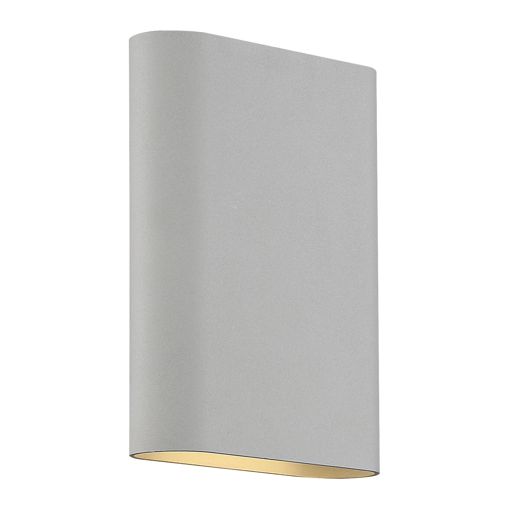 Access Lighting Lux 8 Inch LED Wall Sconce Lux 20408LEDD SAT Modern Contemporary
