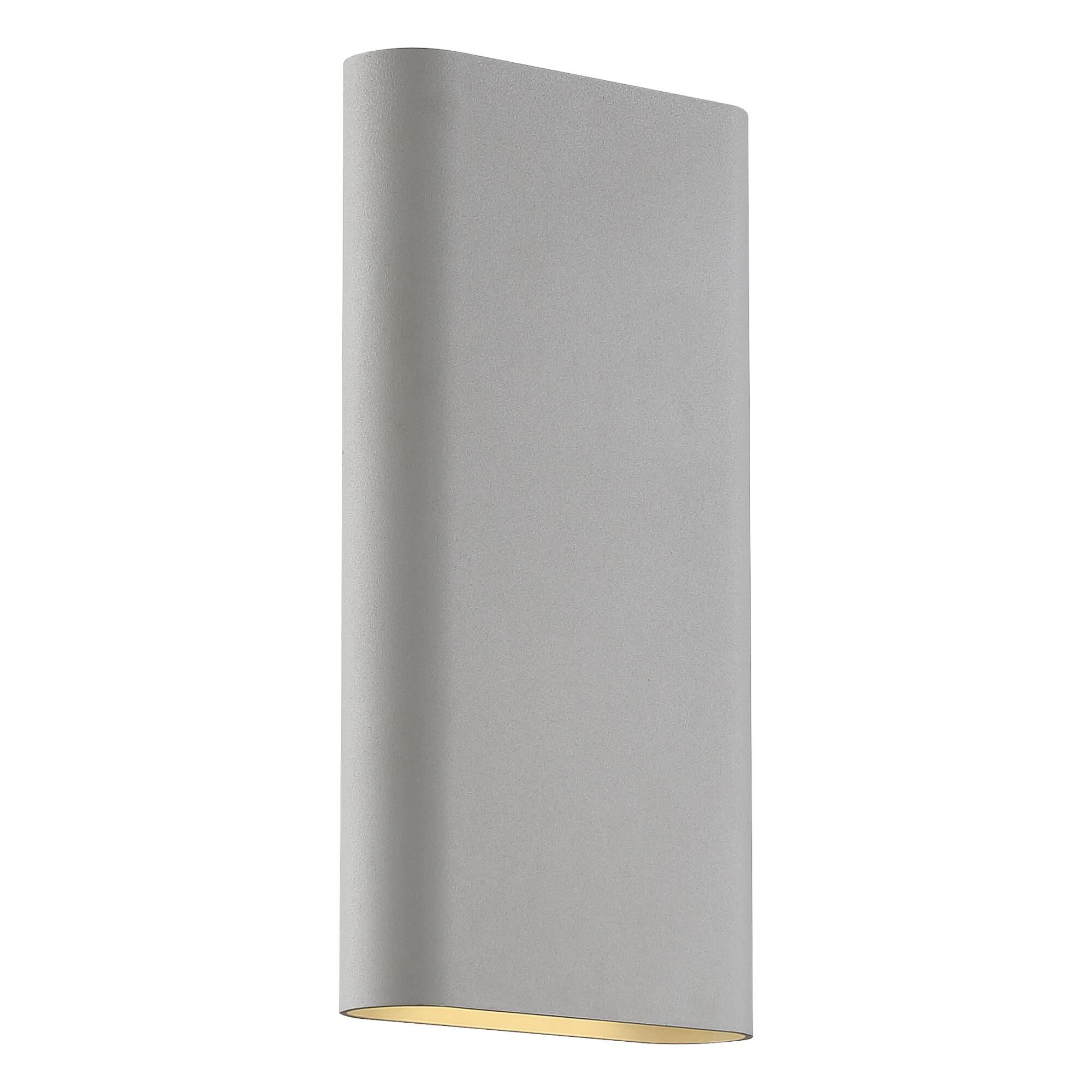 Access Lighting Lux 12 Inch LED Wall Sconce Lux 20409LEDD SAT Modern Contemporary