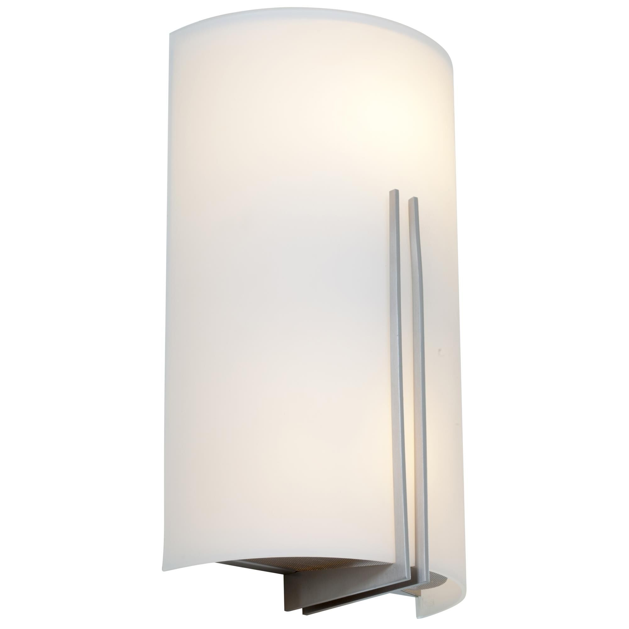 Access Lighting Prong 12 Inch Wall Sconce Prong 20446LEDD BSWHT Modern Contemporary