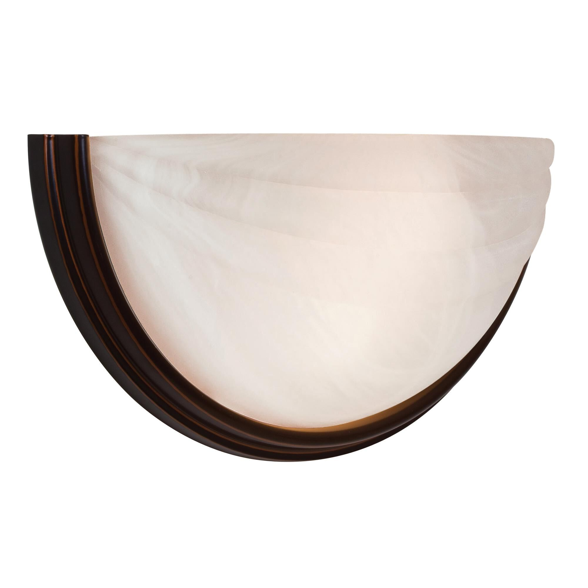 Access Lighting Crest 13 Inch LED Wall Sconce Crest 20635LEDDLP ORBALB Transitional