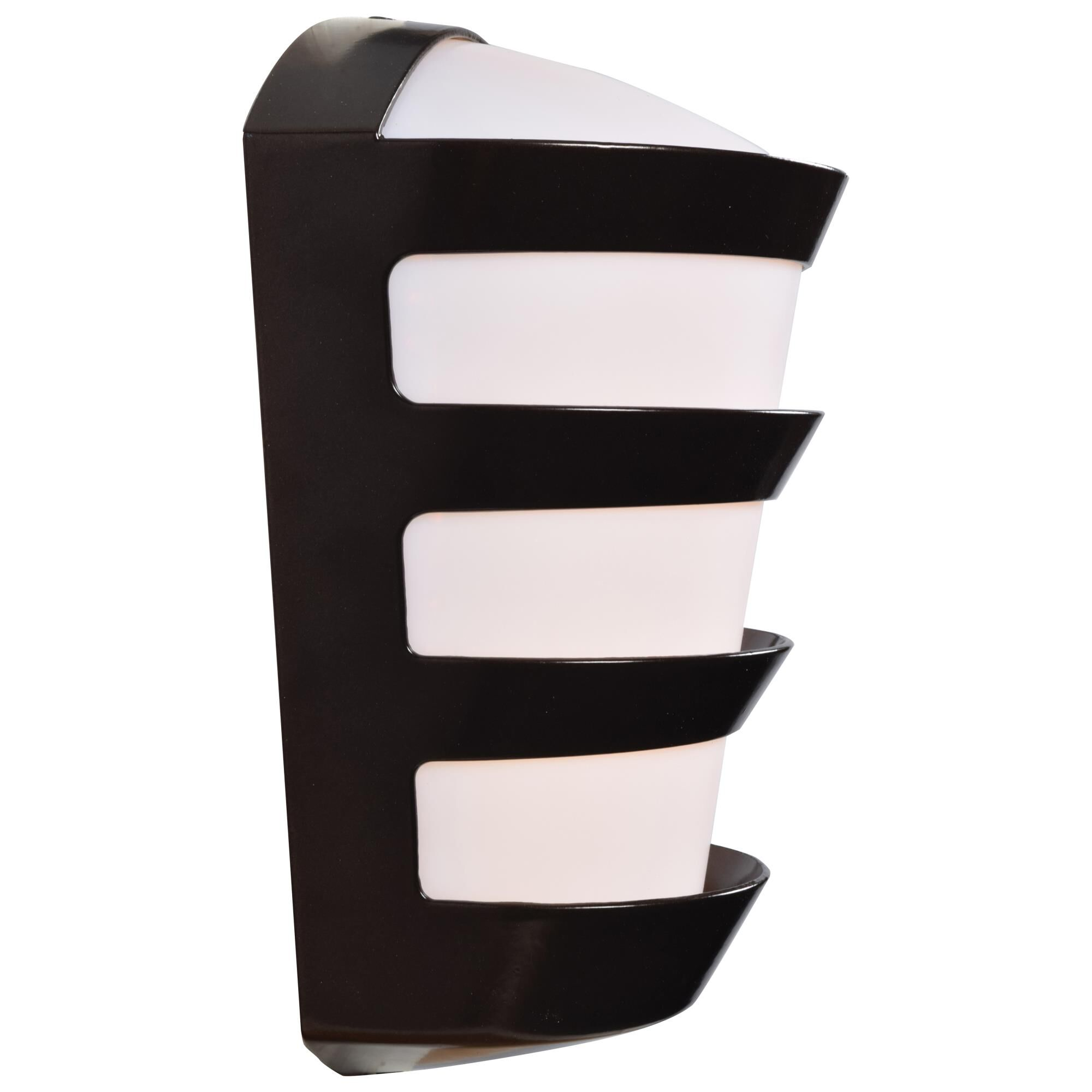 Access Lighting Band 11 Inch Tall 1 Light LED Outdoor Wall Light Band 23007LEDDMG BRZACR Modern Contemporary
