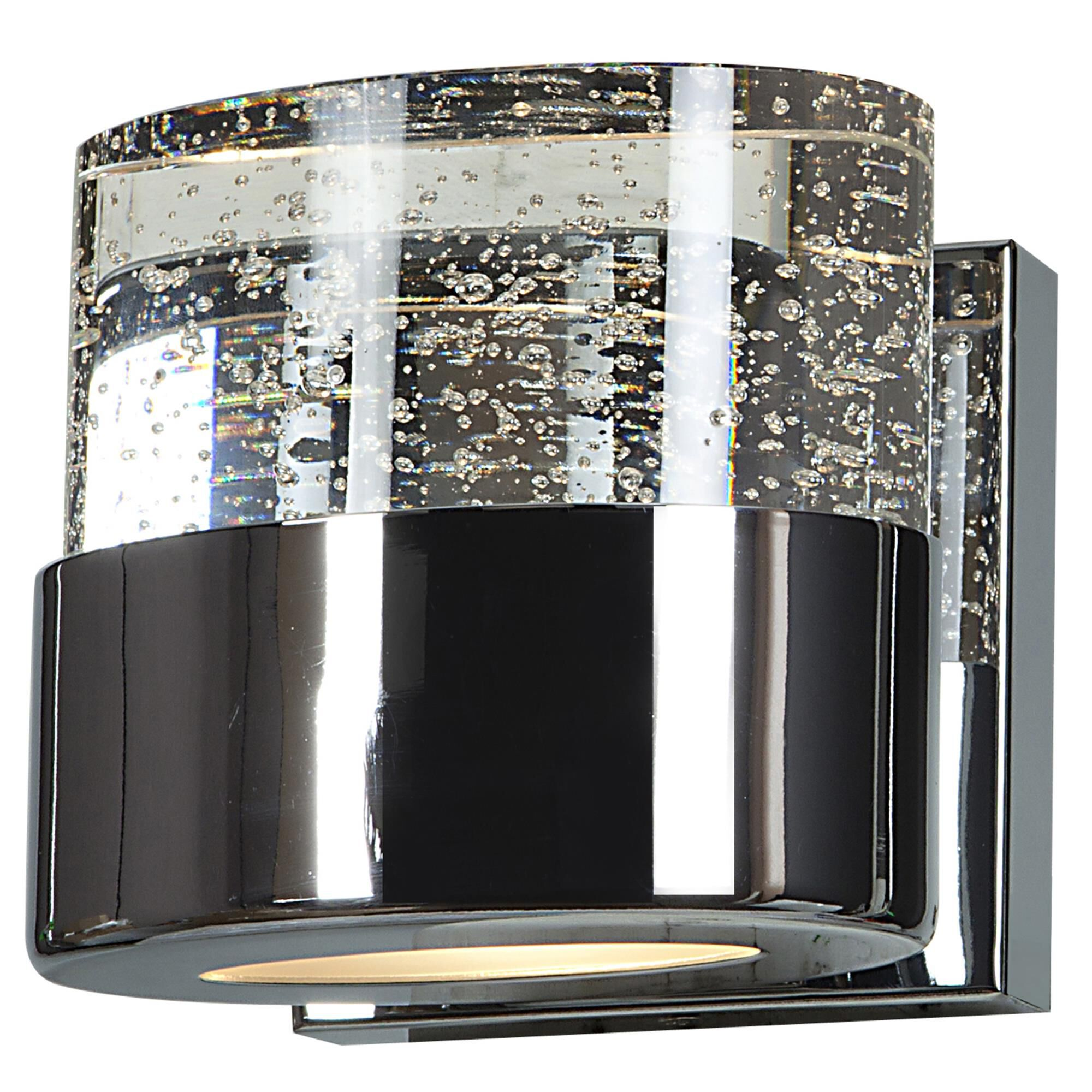 Access Lighting Bubbles 5 Inch Wall Sconce Bubbles 23925LEDDLP CHCLR Modern Contemporary