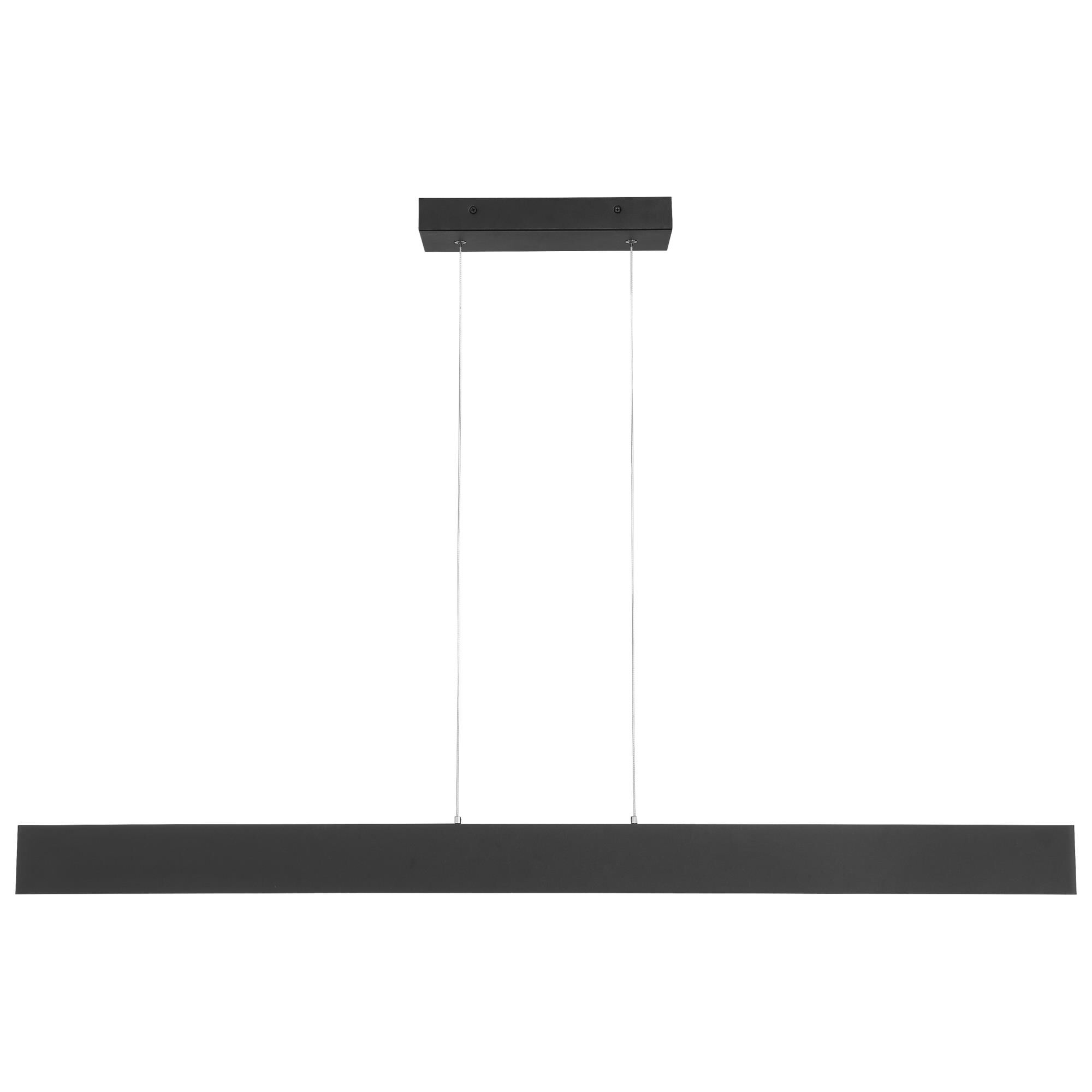 Access Lighting Holm 48 Inch LED Linear Suspension Light Holm 24896LEDD MBLACR Modern Contemporary