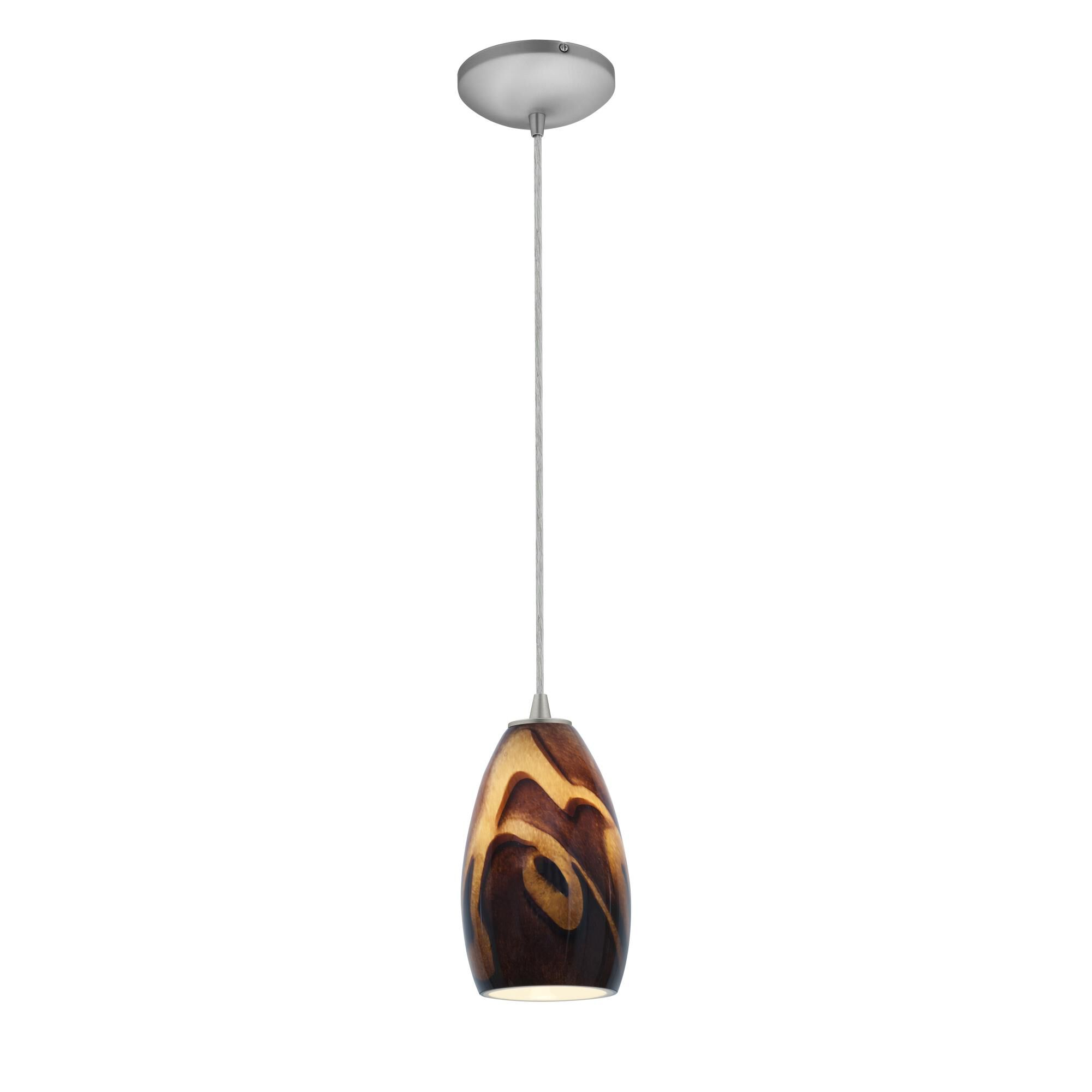 Access Lighting Champagne LED Mini Pendant Champagne 28012 3C BSICA Modern Contemporary