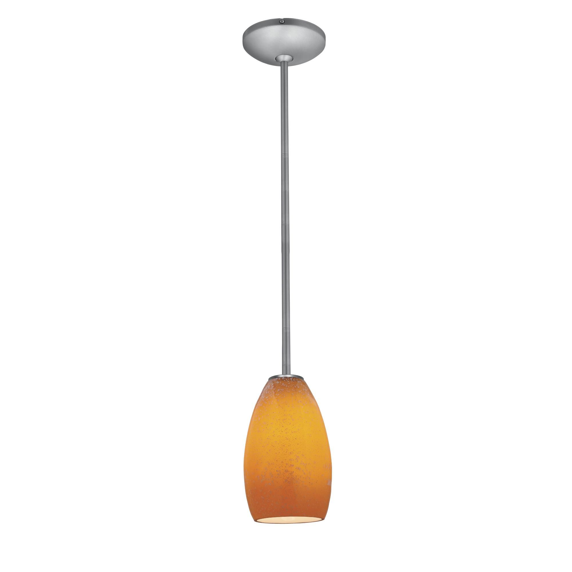 Access Lighting Champagne LED Mini Pendant Champagne 28012 3R BSMYA Modern Contemporary