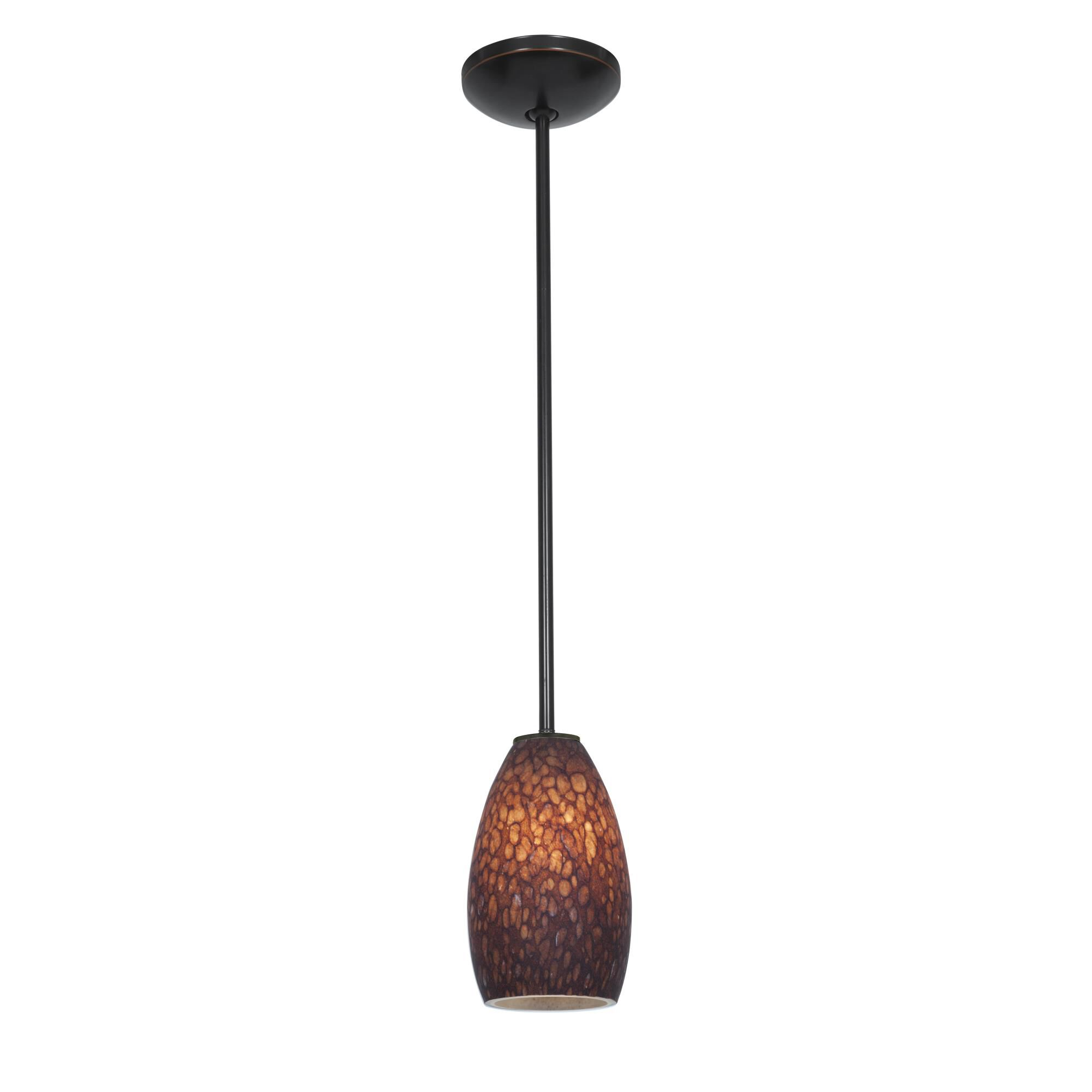 Access Lighting Champagne LED Mini Pendant Champagne 28012 3R ORBBRST Modern Contemporary