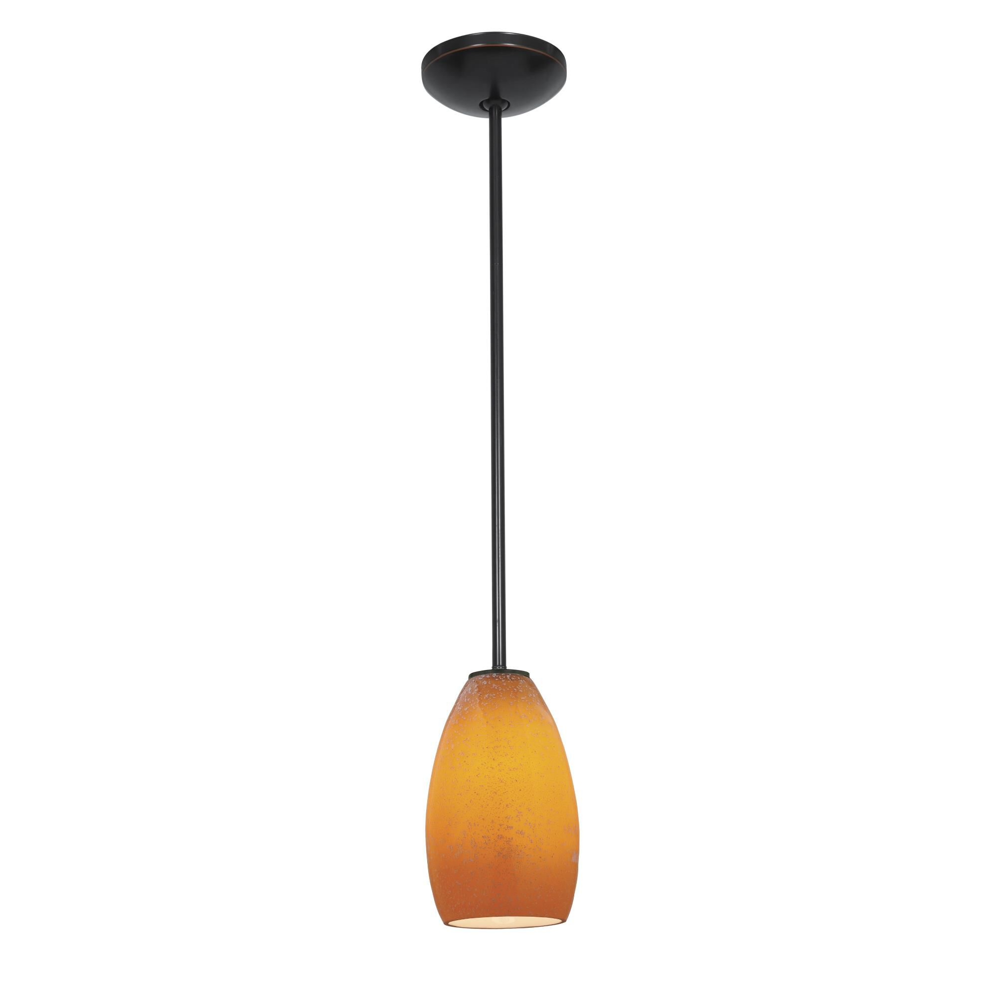 Access Lighting Champagne LED Mini Pendant Champagne 28012 4R ORBMYA Modern Contemporary