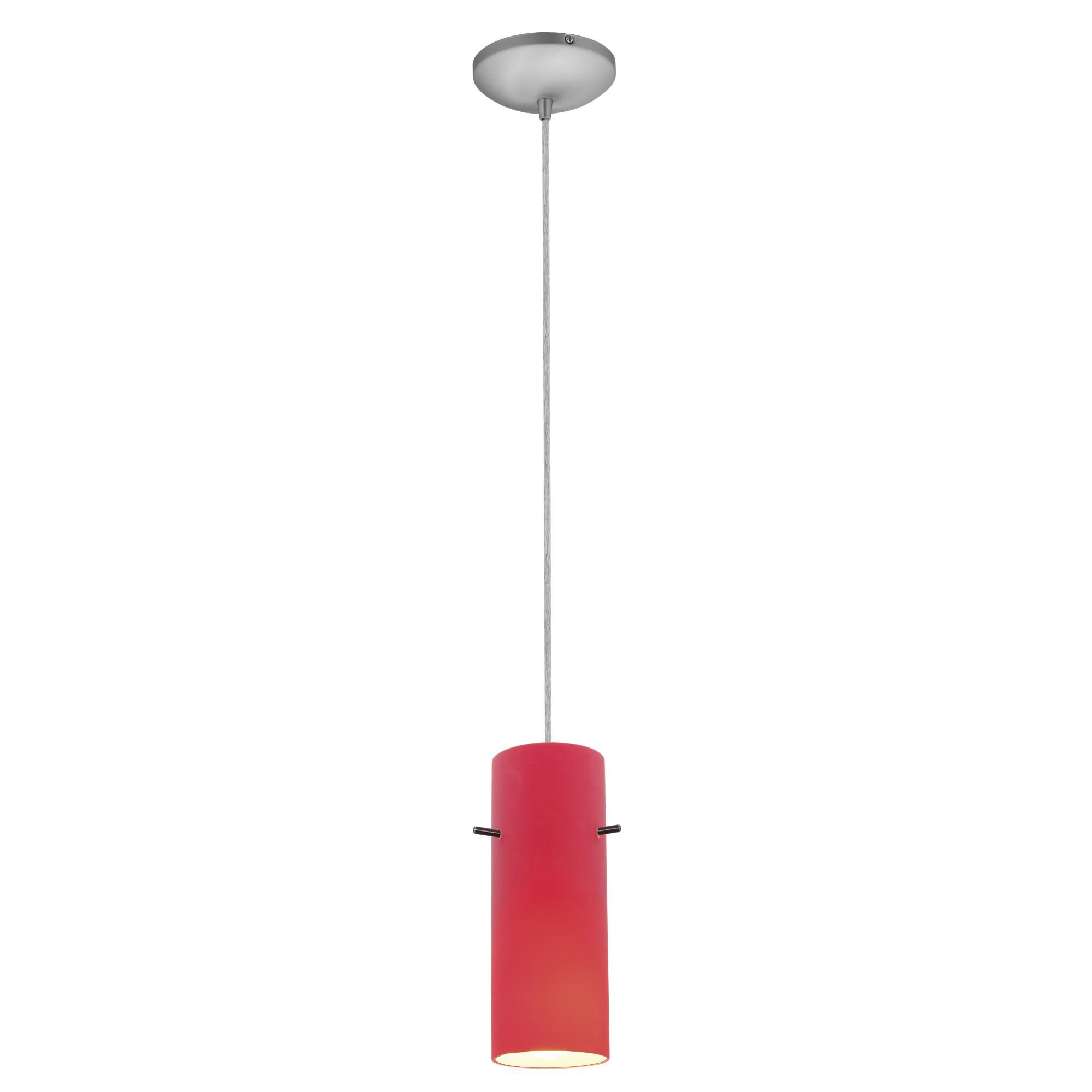 Access Lighting Cylinder LED Mini Pendant Cylinder 28030 3C BSRED Modern Contemporary