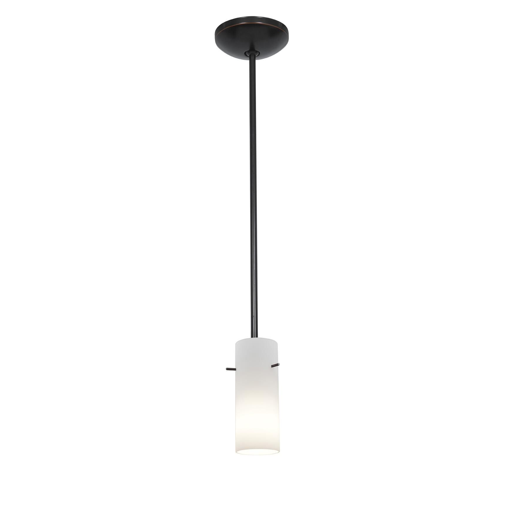 Access Lighting Cylinder 4 Inch Mini Pendant Cylinder 28030 1R ORBOPL Modern Contemporary