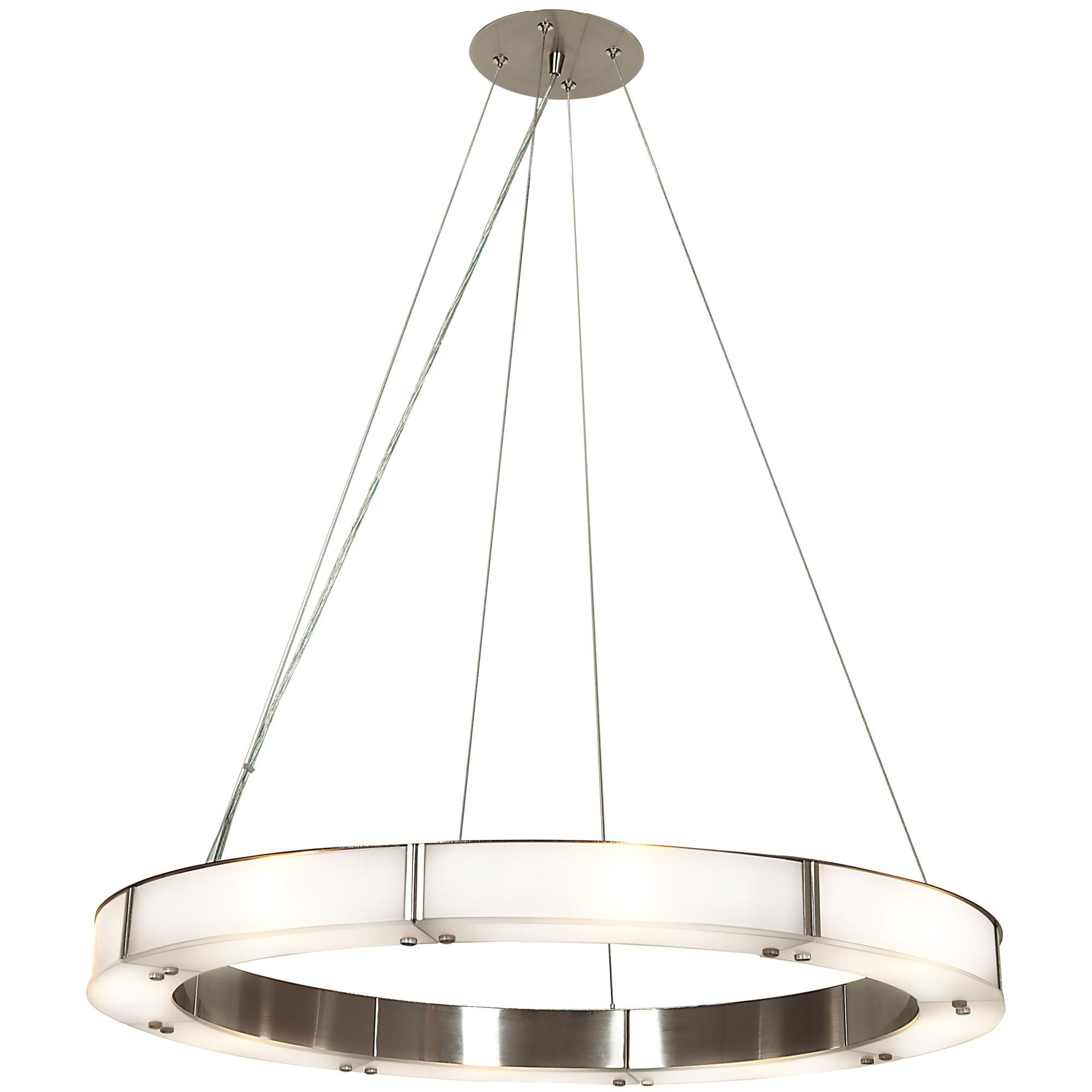 Access Lighting Oracle Large Pendant Oracle 50466LEDD BSFST Modern Contemporary