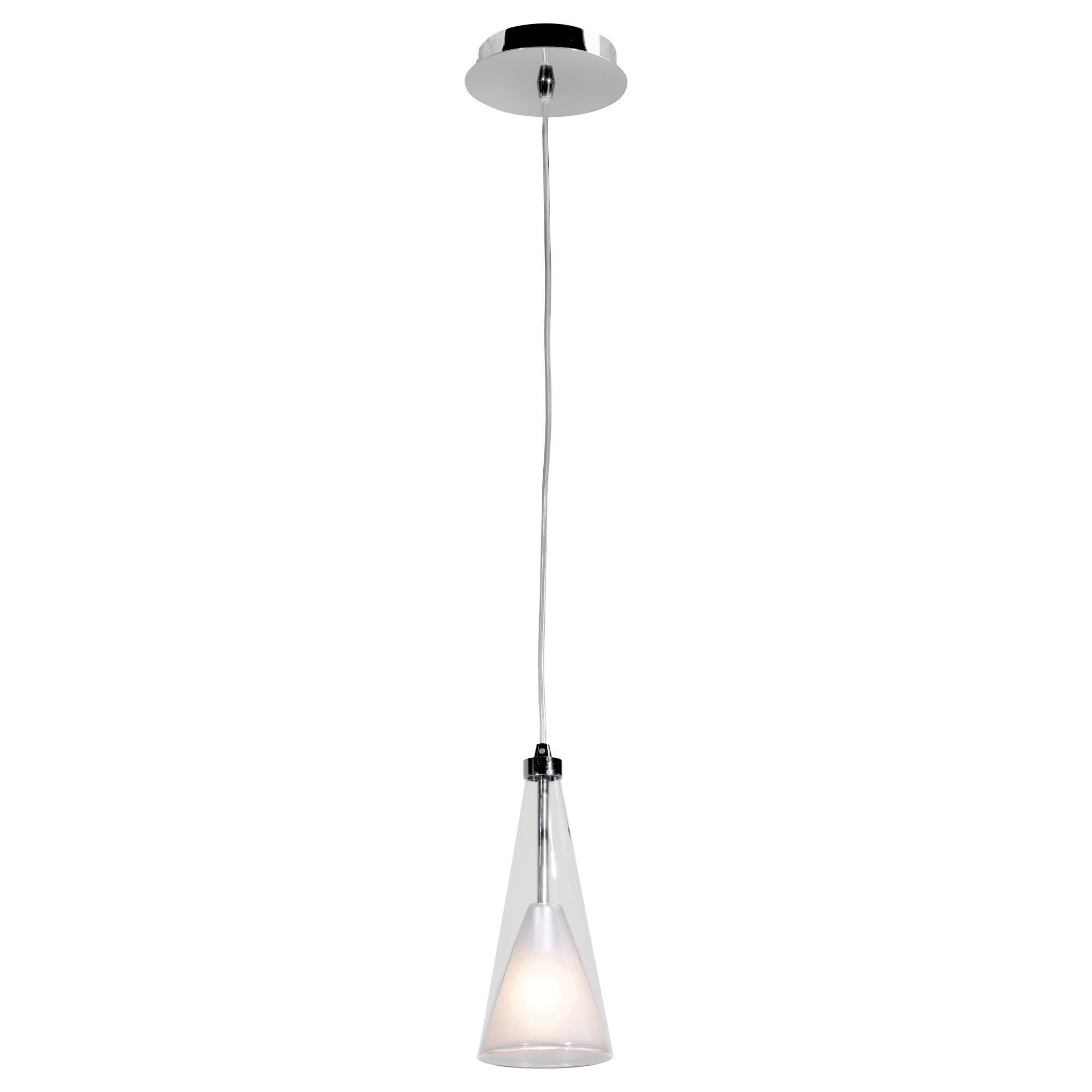 Access Lighting Icicle 10 Inch Mini Pendant Icicle 50543 CHCLOP Modern Contemporary