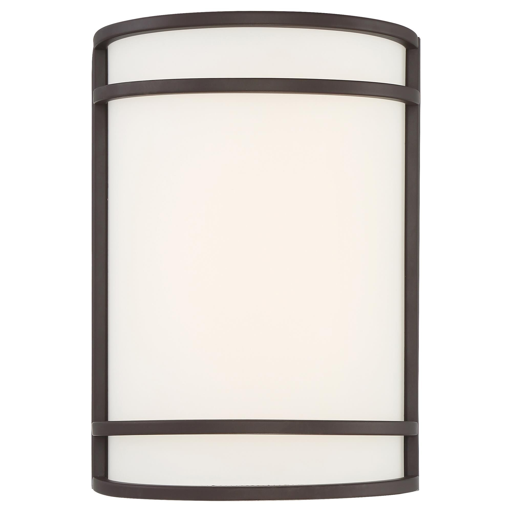 Access Lighting Lola 10 Inch LED Wall Sconce Lola 62165LEDDLP BRZFST Modern Contemporary