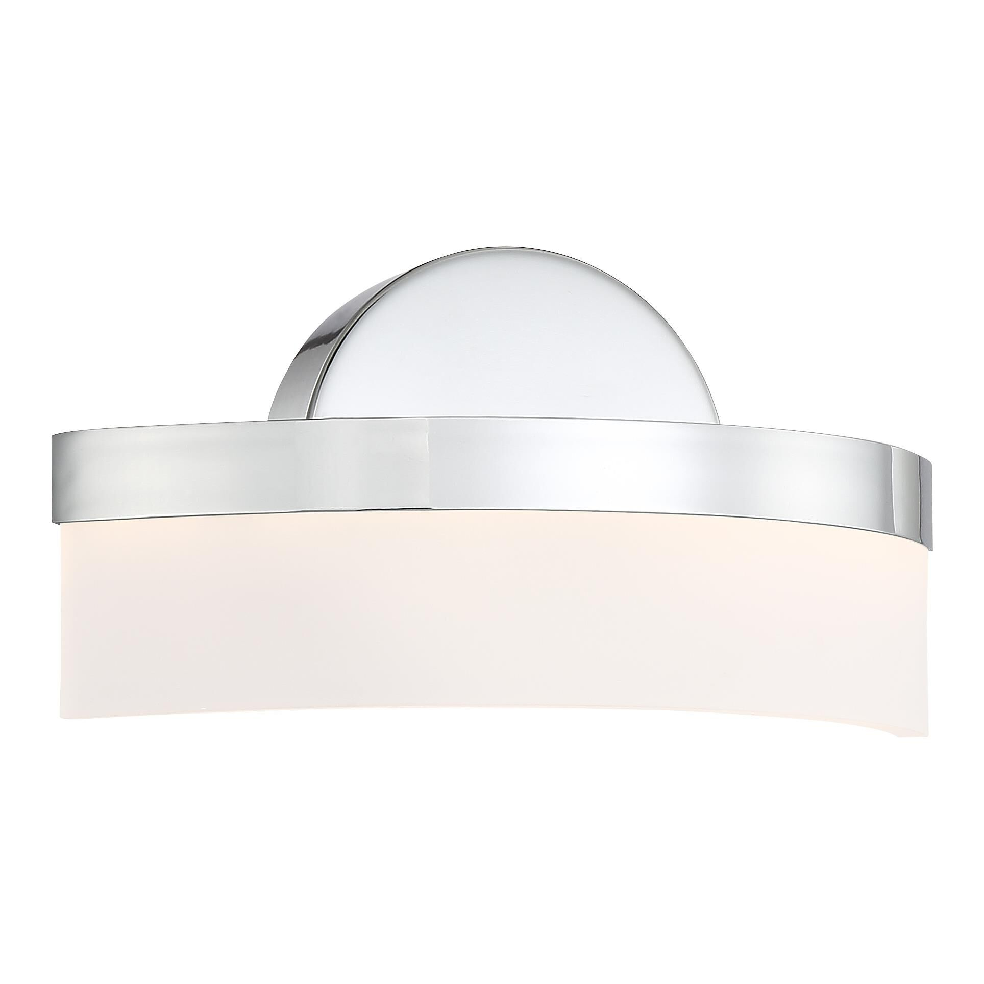 Access Lighting Bow 8 Inch LED Wall Sconce Bow 62246LEDD CHACR Modern Contemporary