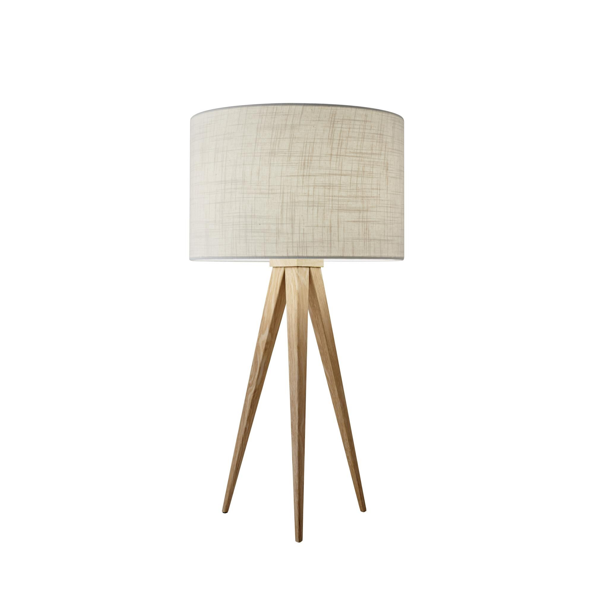 Adesso Director Table Lamp Director - 6423-12 - Modern Contemporary Table Lamp