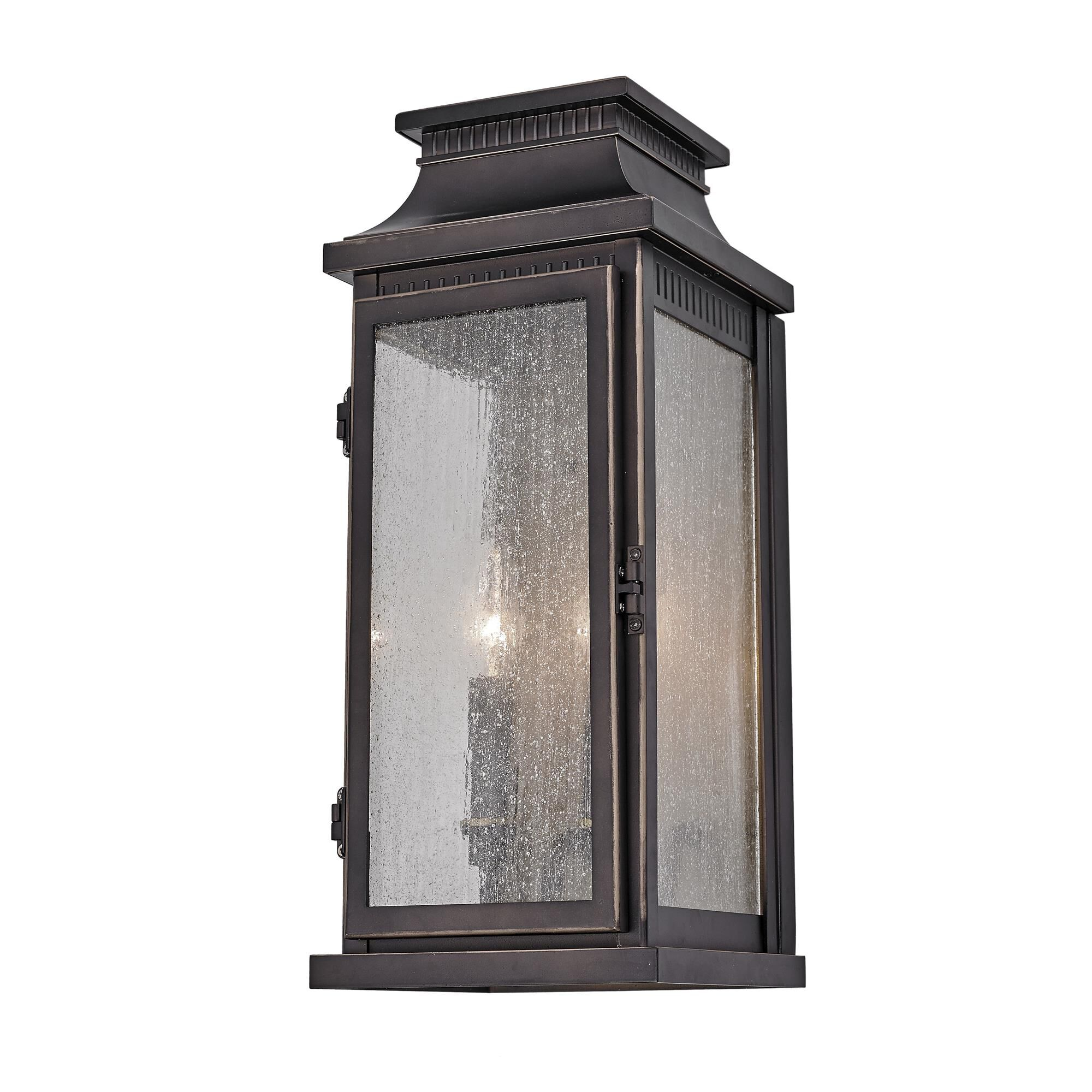 Artcraft Mansard 2 Light Outdoor Wall Light Mansard - Ac8172ob - Traditional Outdoor Wall Light