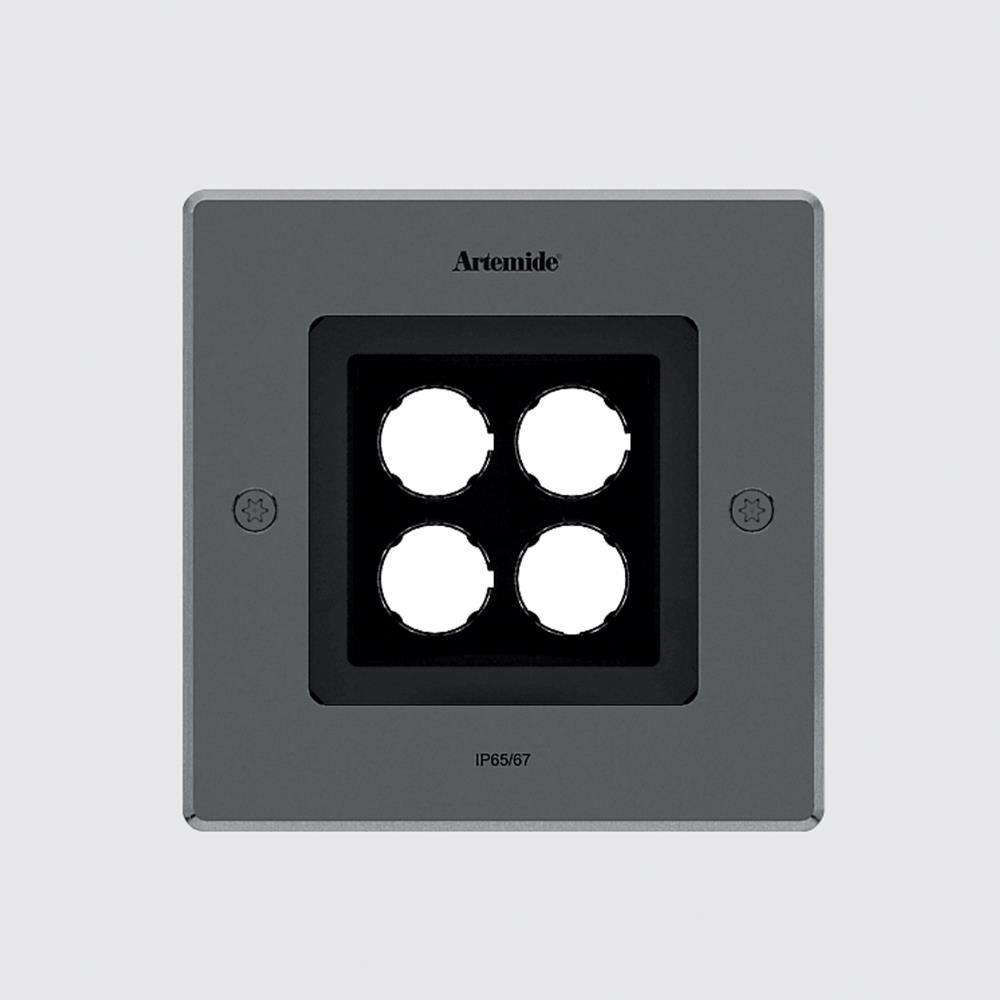 Artemide Ernesto Gismondi Ego 5 Inch 1 Light Led Outdoor Flush Mount Ego - T4064nspn08 - Modern Contemporary Outdoor Flush Mount
