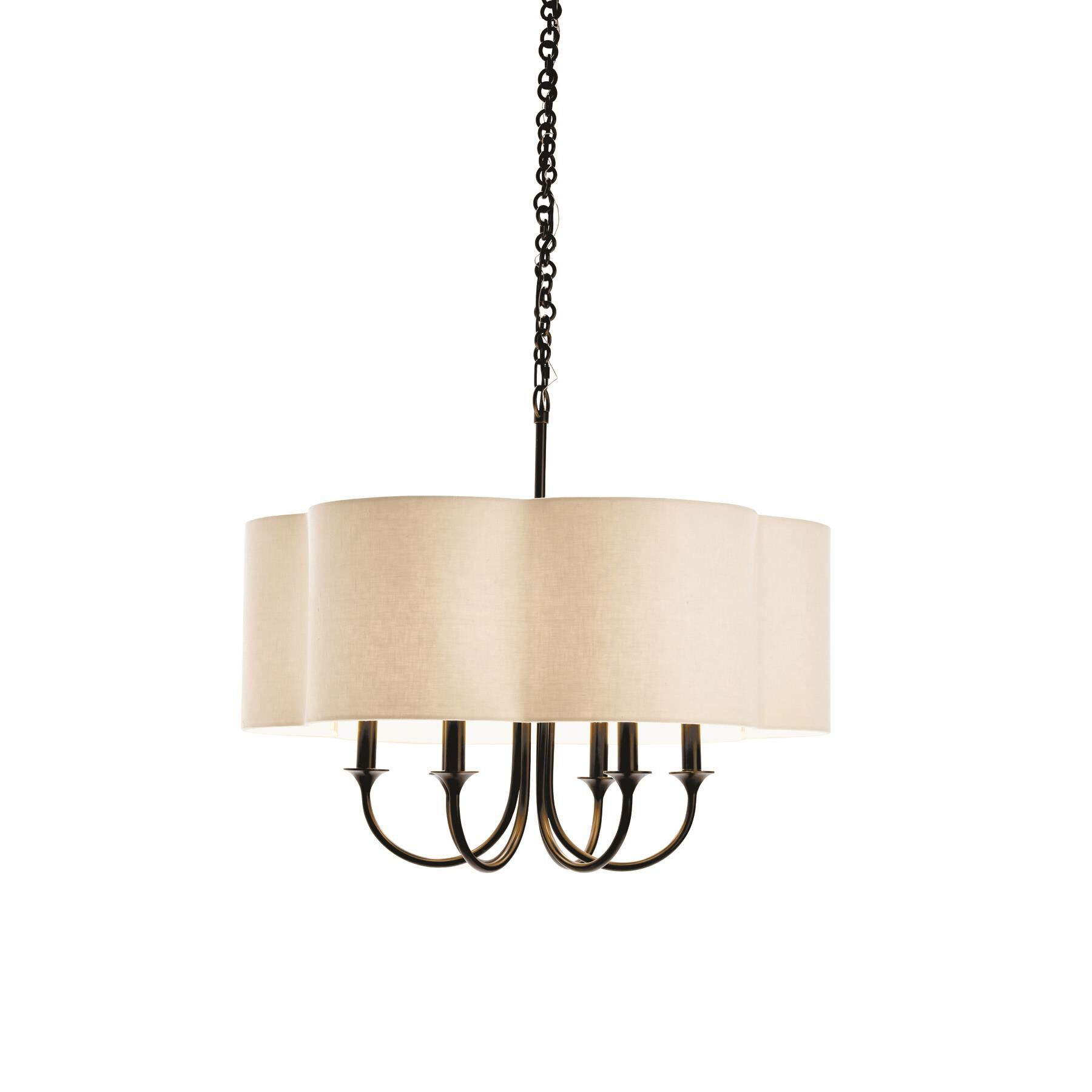 Arteriors Home Rittenhouse 26 Inch 6 Light Chandelier Rittenhouse - 89418 - Transitional Chandelier