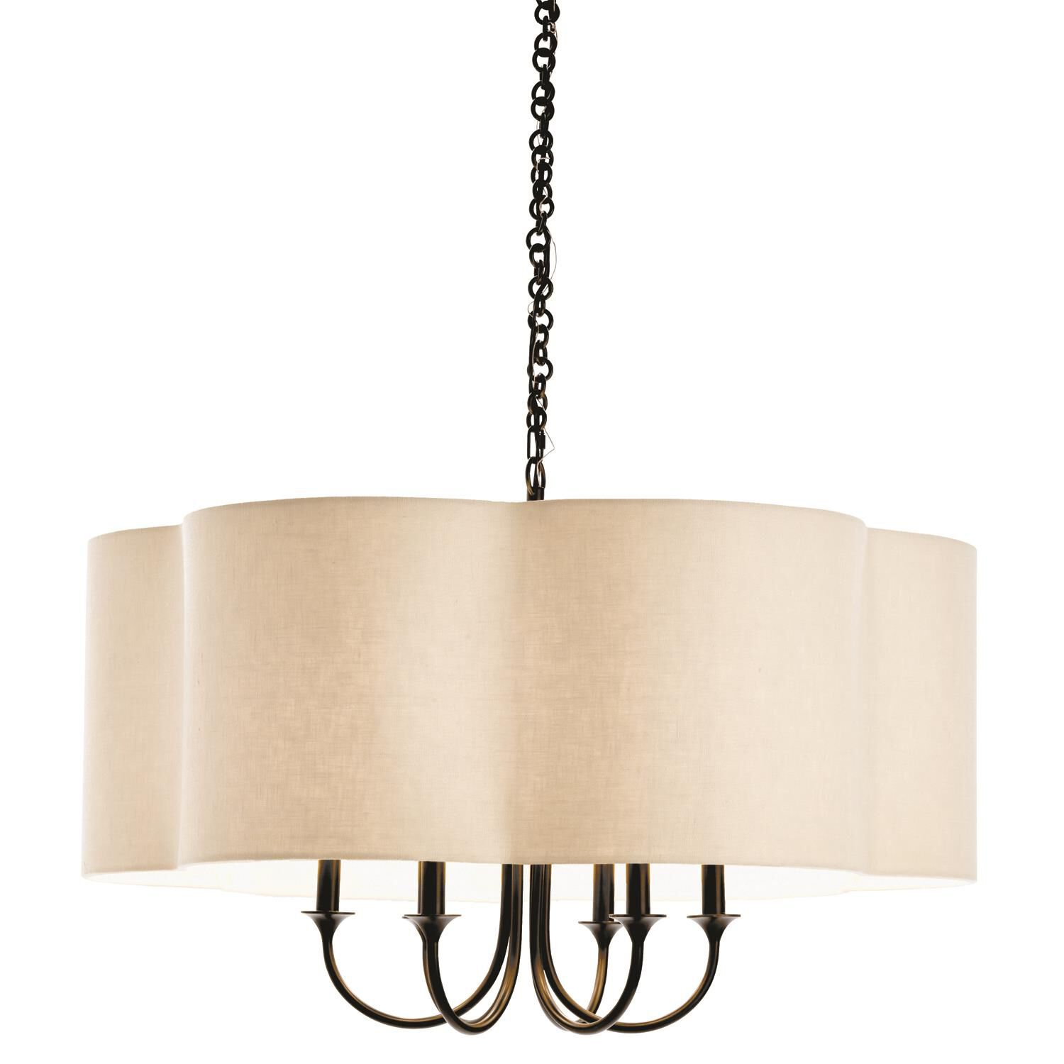 Arteriors Home Rittenhouse 42 Inch 6 Light Chandelier Rittenhouse - 89421 - Transitional Chandelier