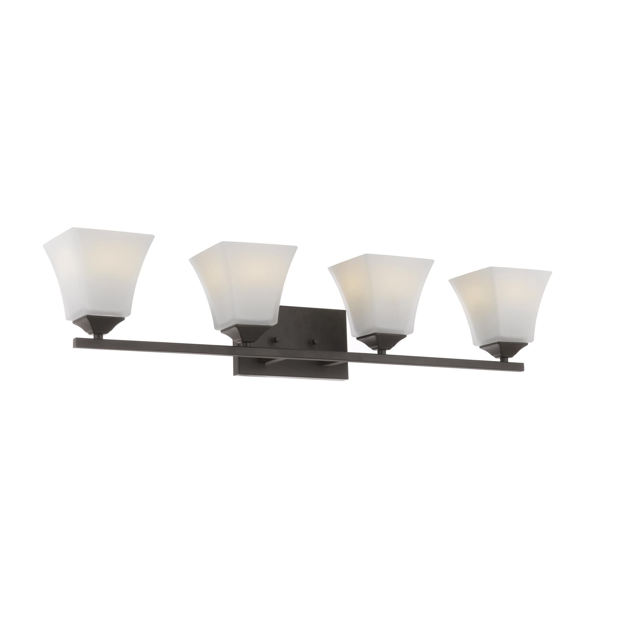 Batalion Hillair 33 Inch Wall Sconce Hillair - P1580wb4orb - Transitional Wall Sconce