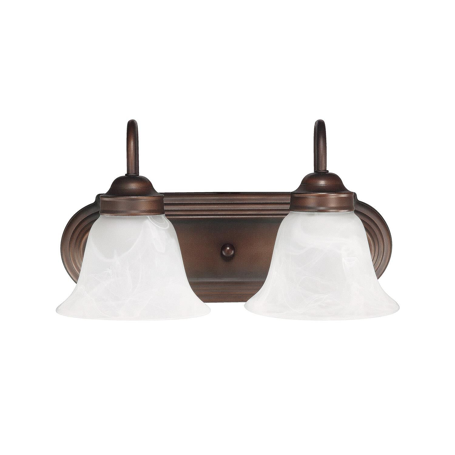 Capital Lighting Fixture Company 14 Inch 2 Light Bath Vanity Light - 1032bb-118 - Traditional
