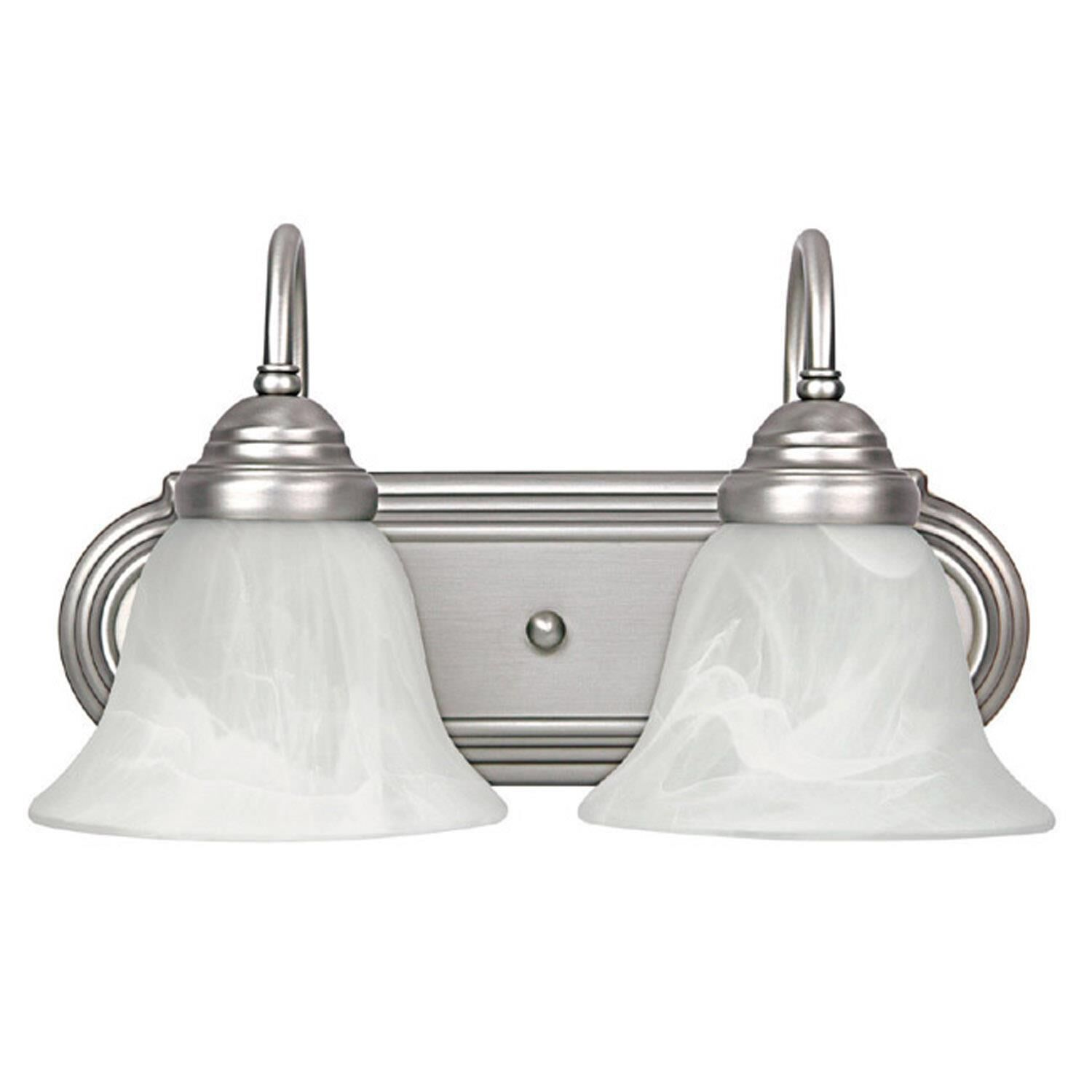 Capital Lighting Fixture Company 14 Inch 2 Light Bath Vanity Light - 1162mn-118 - Traditional