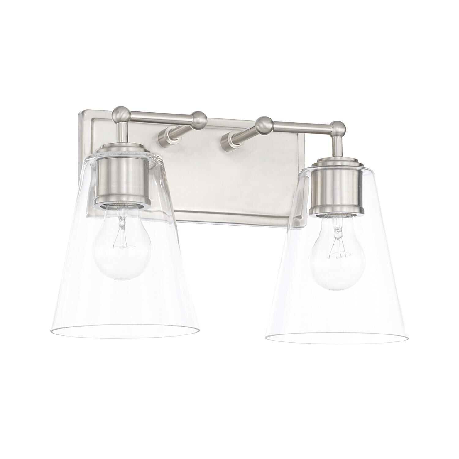 Capital Lighting Fixture Company 14 Inch 2 Light Bath Vanity Light - 121721bn-431 - Transitional