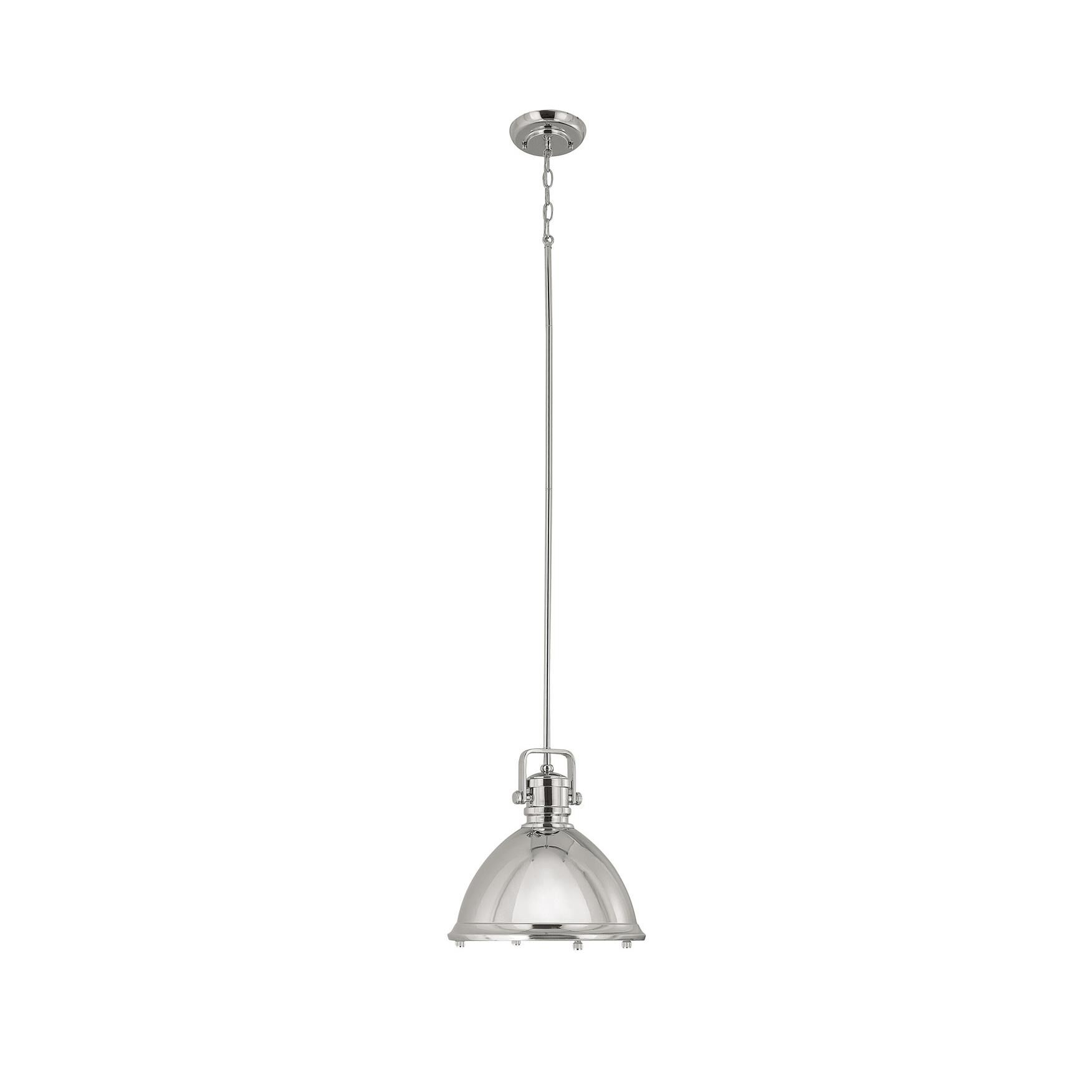 Capital Lighting Fixture Company 13 Inch Mini Pendant - 4432pn - Industrial