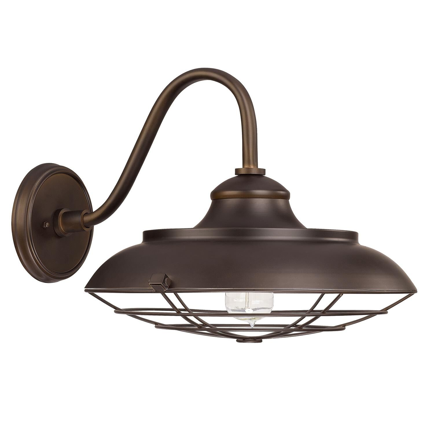 Capital Lighting Fixture Company 13 Inch Tall 1 Light Outdoor Wall Light - 4562bb - Industrial