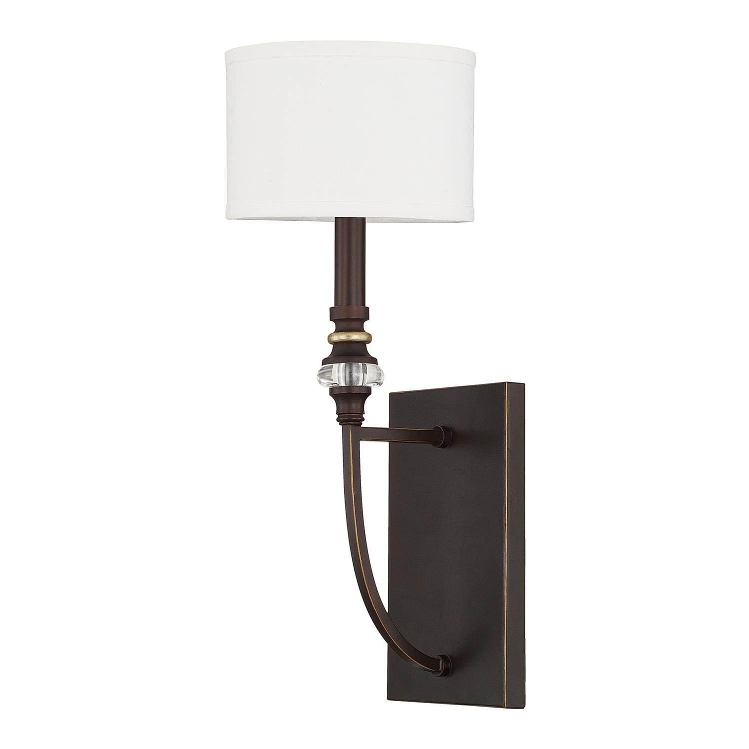 Capital Lighting Fixture Company Asher 7 Inch Wall Sconce Asher - 614911cz-660 - Traditional Wall Sconce