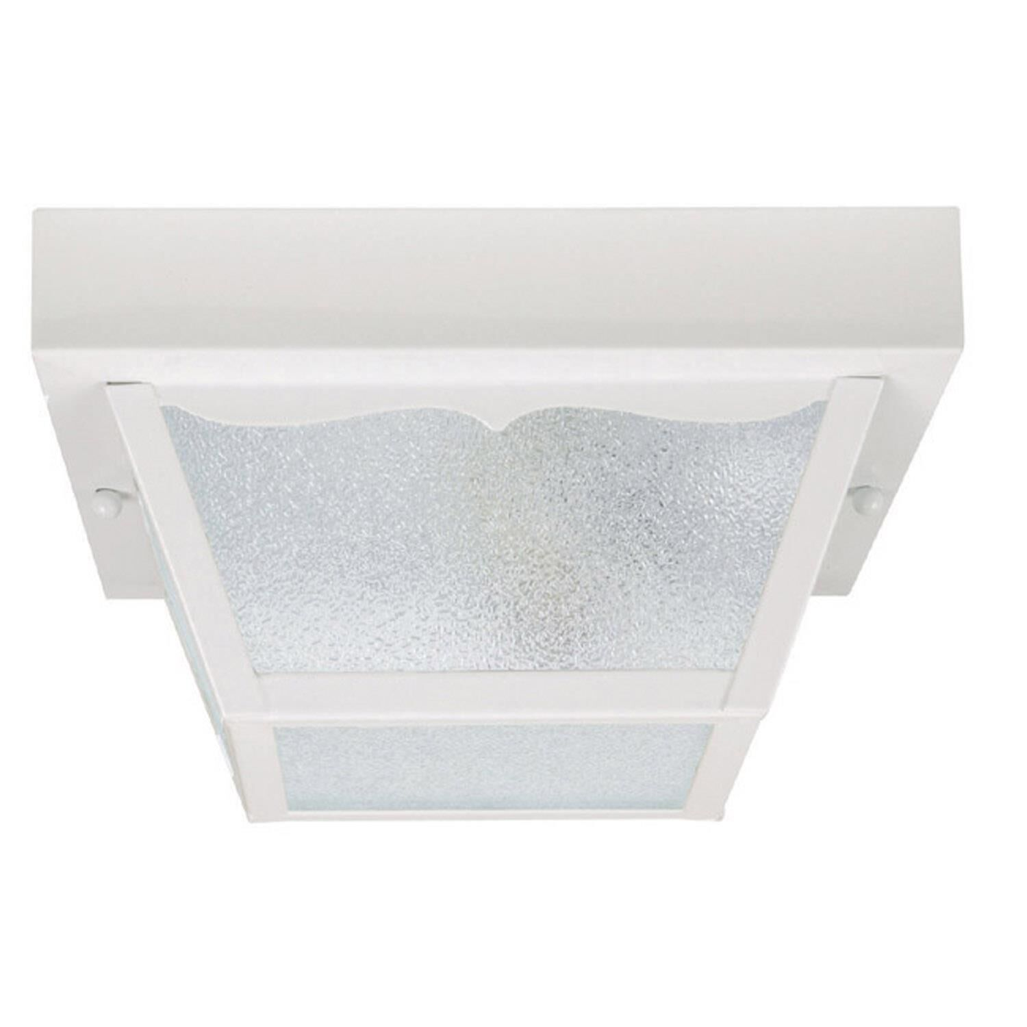 Capital Lighting Fixture Company 10 Inch 2 Light Outdoor Flush Mount - 9939wh - Transitional