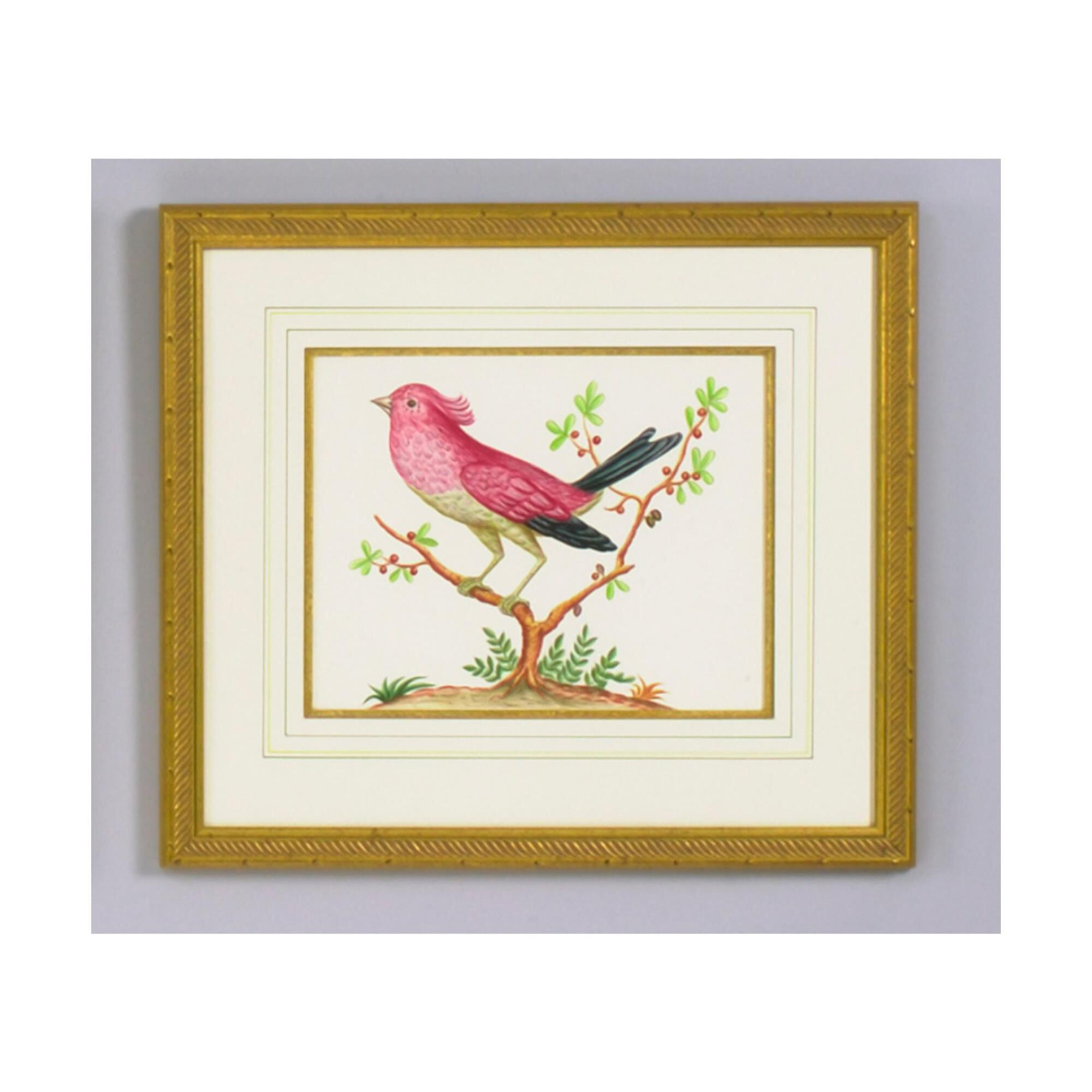 Chelsea House PINK BIRD/BLACK TAIL Painting - 380286 Painting (1750705) photo