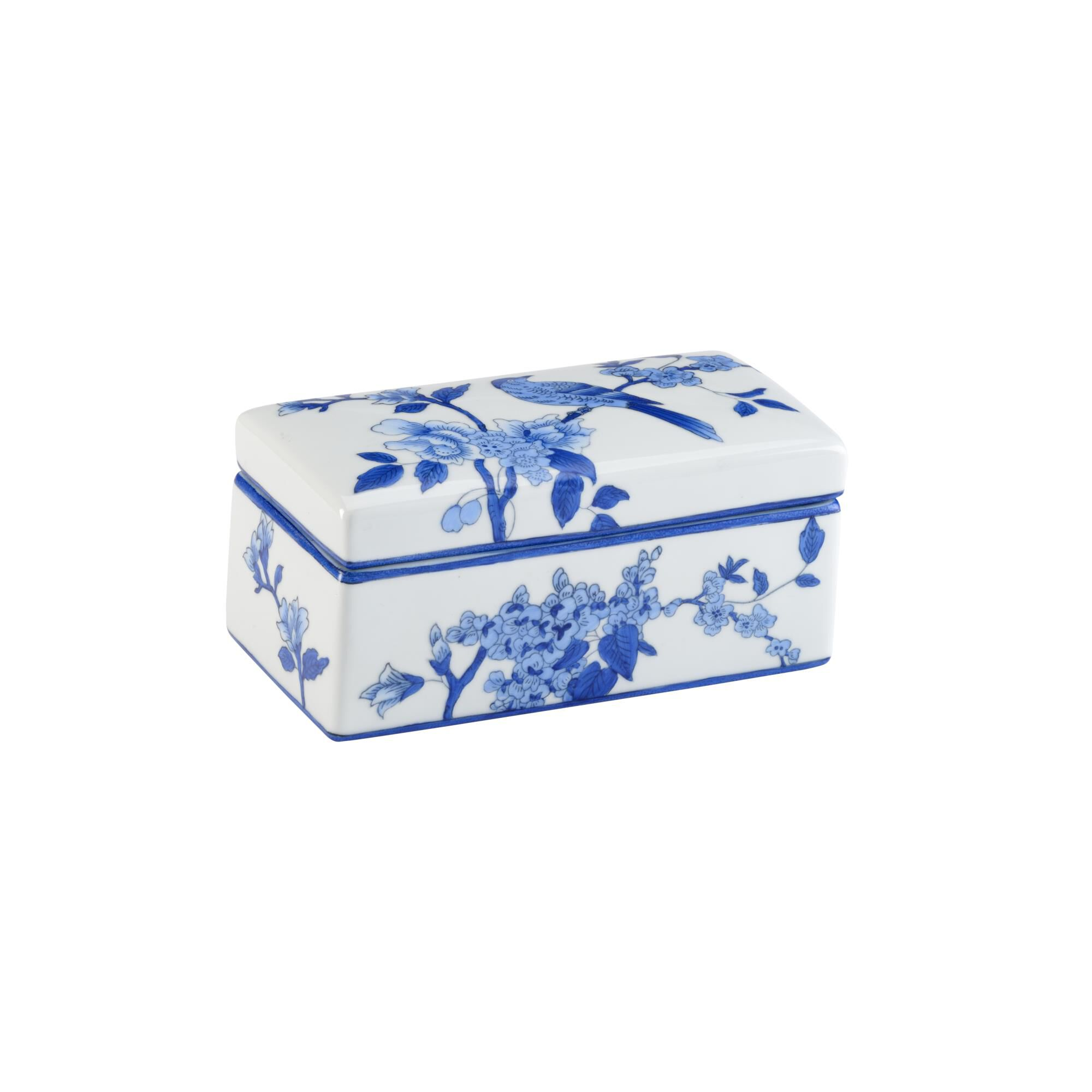 Chelsea House BLUE BIRD BOX (LG) Accent Box - 383790 - Traditional (2275168) photo