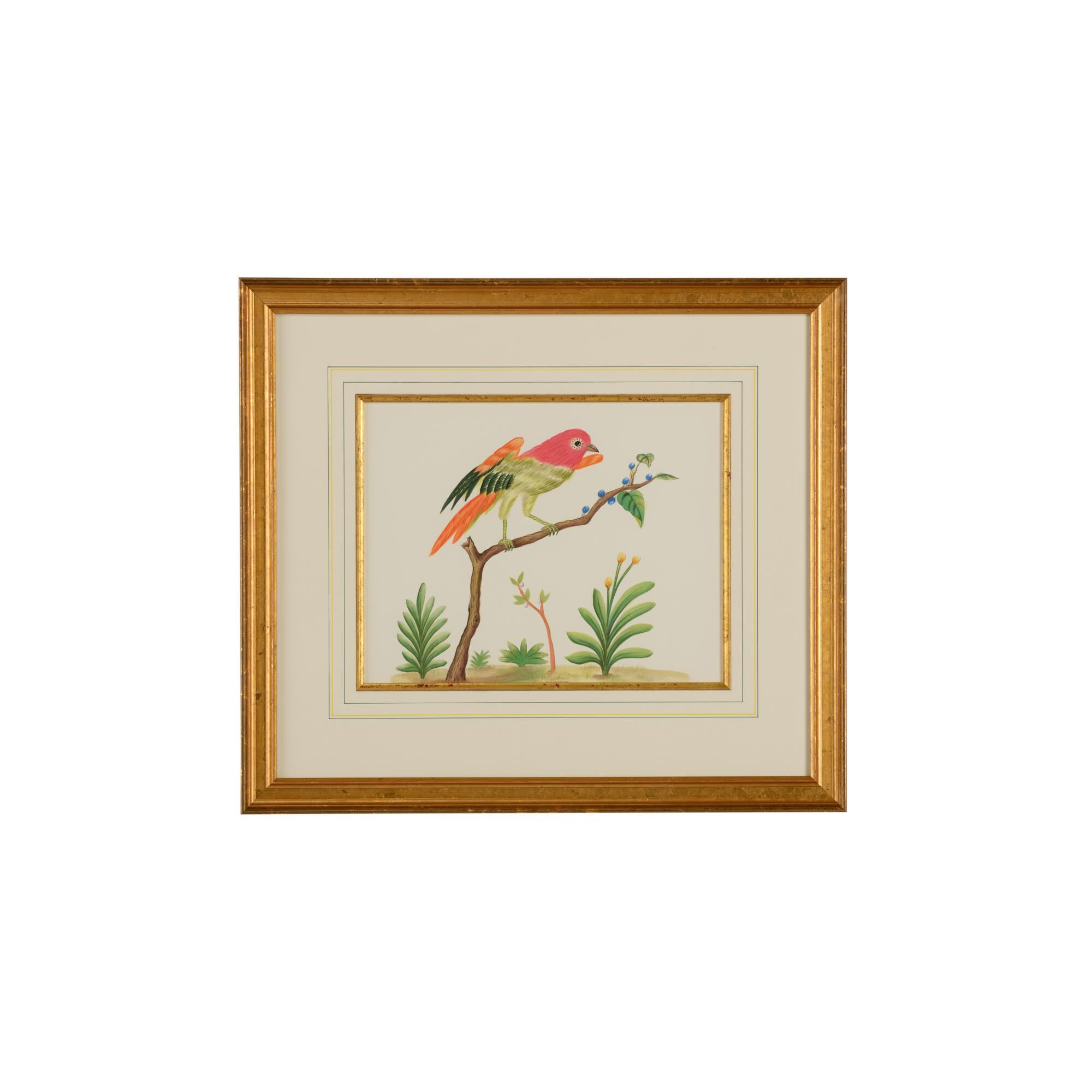 Chelsea House MULTICOLOR BIRD Painting Multicolor Bird - 386859 (2275138) photo